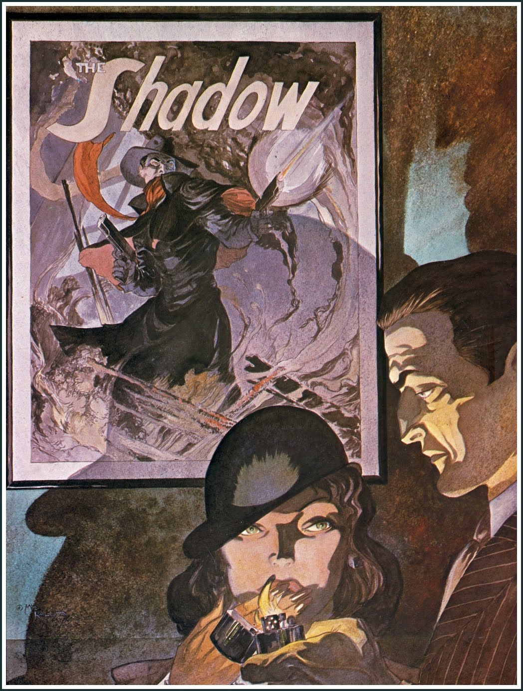 Michael Wm. Kaluta – The Shadow