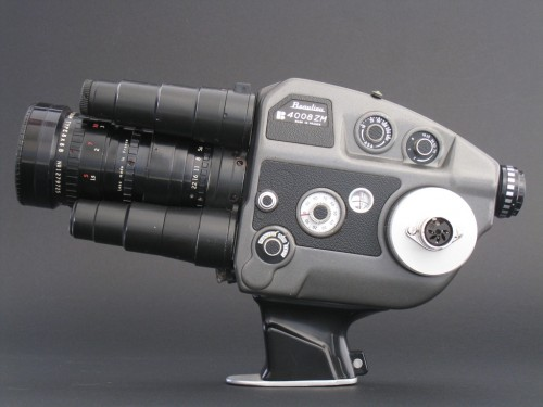 Beaulieu 4008ZM 8mm film video camera