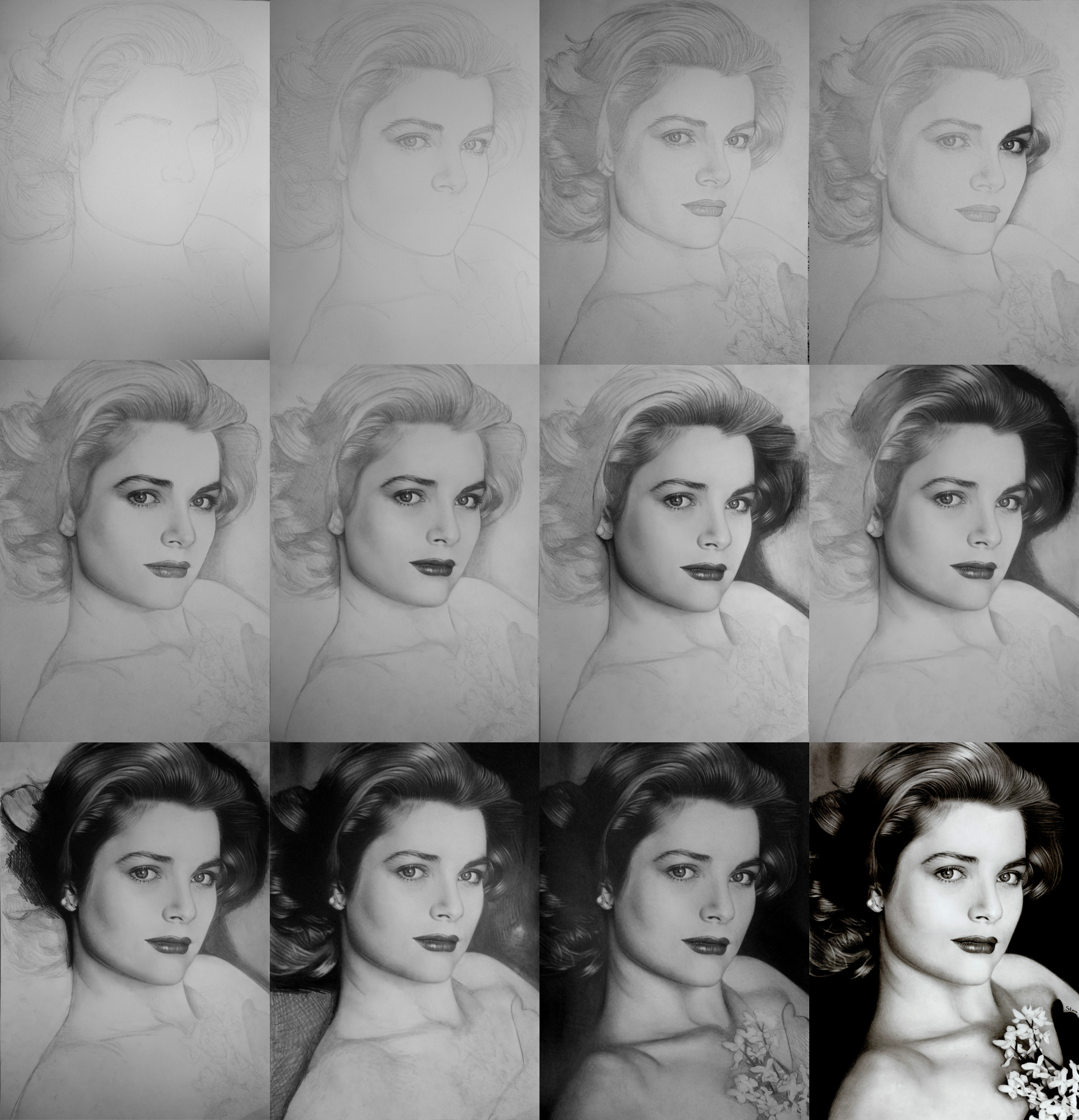 Princess Grace Kelly – WIP by ~Stanbos