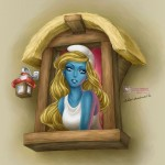 Smurfette by =daekazu on deviantART