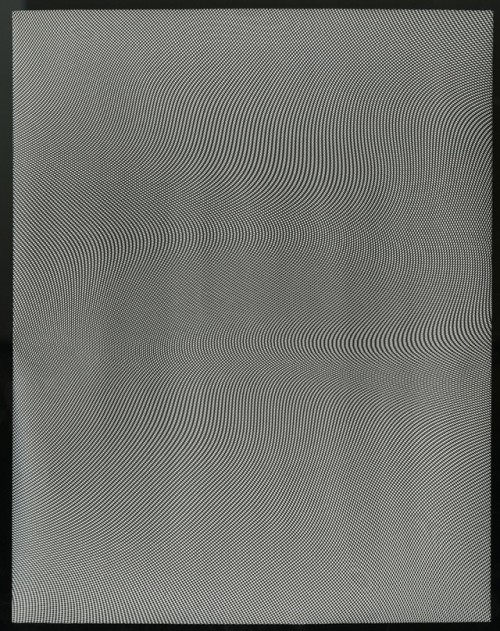 abstract art of a moire style pattern