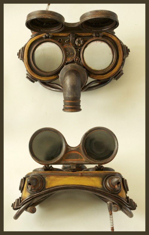 Eteheroscope steam-punk goggles