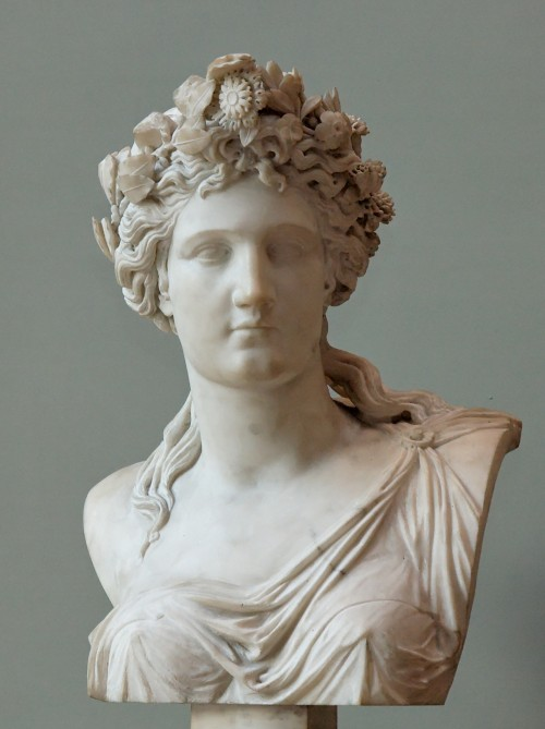 Corinne bust, Louvre