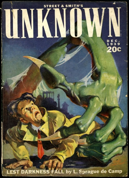 Cover of unknown magazine by Edd Cartier