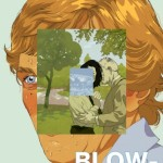 illustrated fan poster for Antonioni&#039;s Blow Up