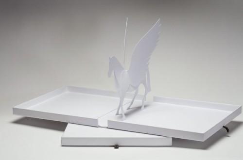 Popup paper Pegasus