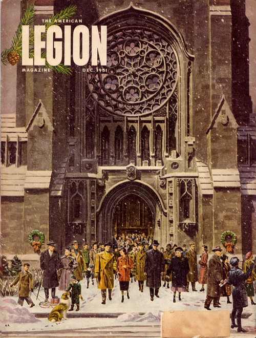 cover of crowd before a cathedral