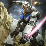 illustration of gundam with sword