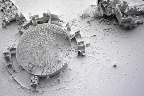 painting or sculpture? Gerry Judah's strange bleak landscapes