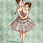 siamese twins in dress
