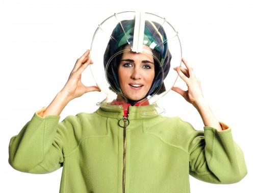 Braniff air hostess headgear - Emilo Pucci