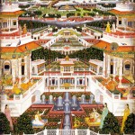 A Palace Complex with Harem Gardens