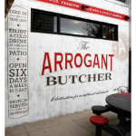 The Arrogant Butcher Design & Ad Work