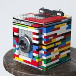 camera made of lego bricks