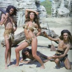 Nadia Cassini as a cavegirl