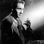 christopher lee smoking a cigarette