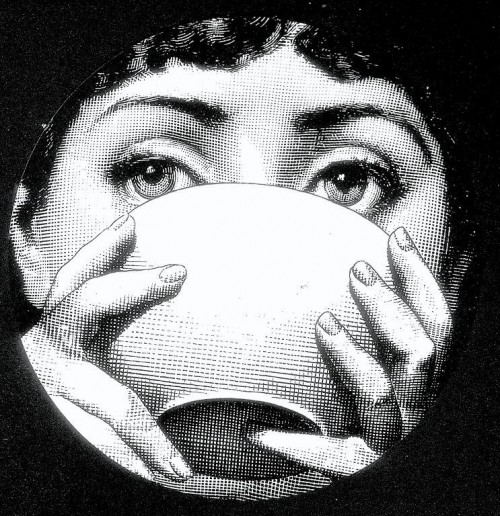 Julia Plate by Piero Fornasetti