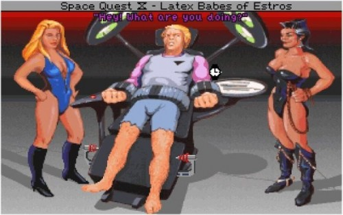 Latex Babes of Estros - Space Quest