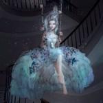 Frozen Flowers by Natalie Shau