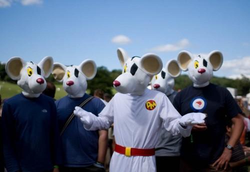 Danger Mouse by Tyson Benton