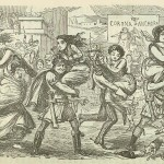 The Romans walking off with the Sabine Women &#8211; p 010