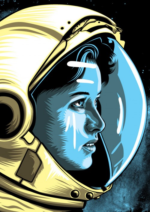 Anna Fisher - astronaut - by David Maclennan