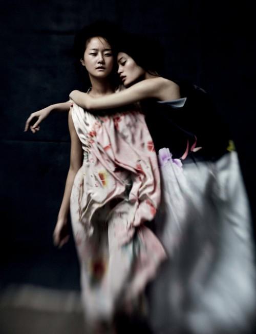 Ming Xi & Hyoni Kang by Will Davidson