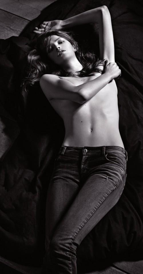 Julia Saner - Armani Jeans Women