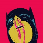 batman with bloodied nose