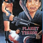 Ghanaian painted movie poster for grindhouse