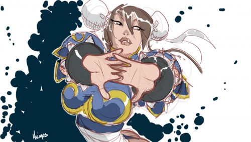 Chun Li by Matthew Humphreys