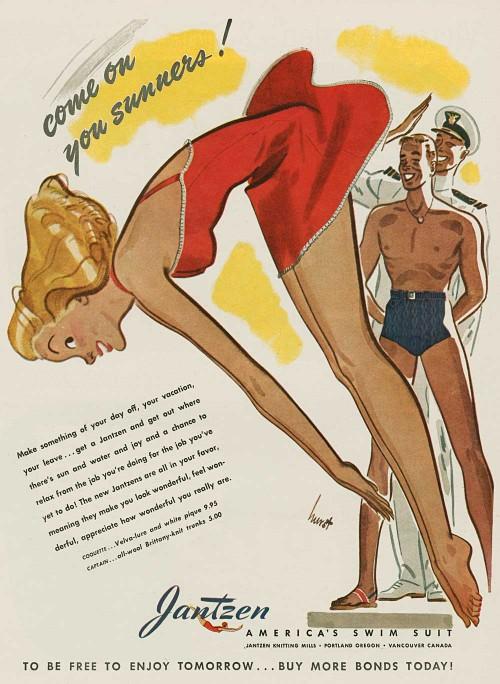 Jantzen swimsuit ad