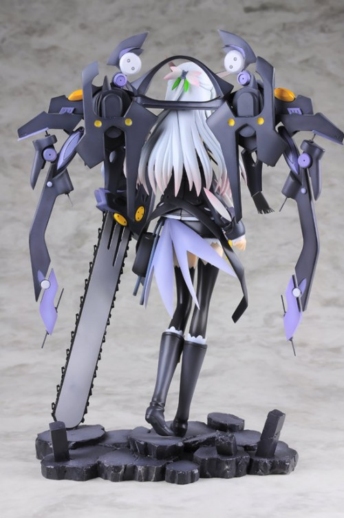 chainsaw girl figure back