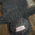 monster skin rug by joshua ben longo