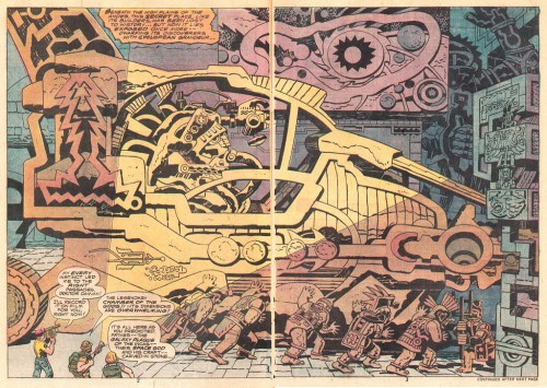 Eternals #01 by Jack Kirby