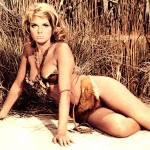 julie ege as cavegirl, colour