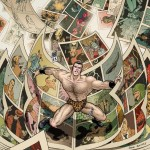 FLEX MENTALLO deluxe edition cover by Frank Quitely