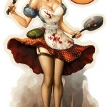 pin up girl by daimida