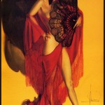 spanish nude with fans by rolf armstrong