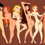 Naked Girls by Xavier Ramonde