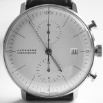 watch design by max bill for junghans