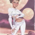 padme amidala by bruce timm