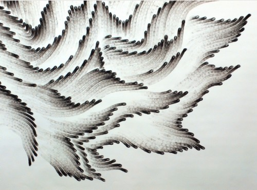 Fingerings #4 - detail by Judith Braun