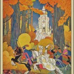 St Nicholas Magazine oct 1921 cover by maud and misja petersham