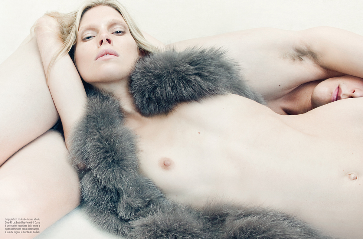 Venus in Furs by Steven Meisel