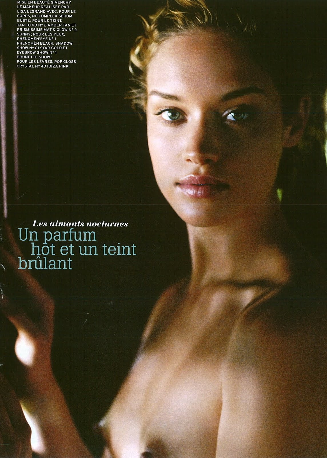 Julie Ordon for Marie Claire France, July 2008