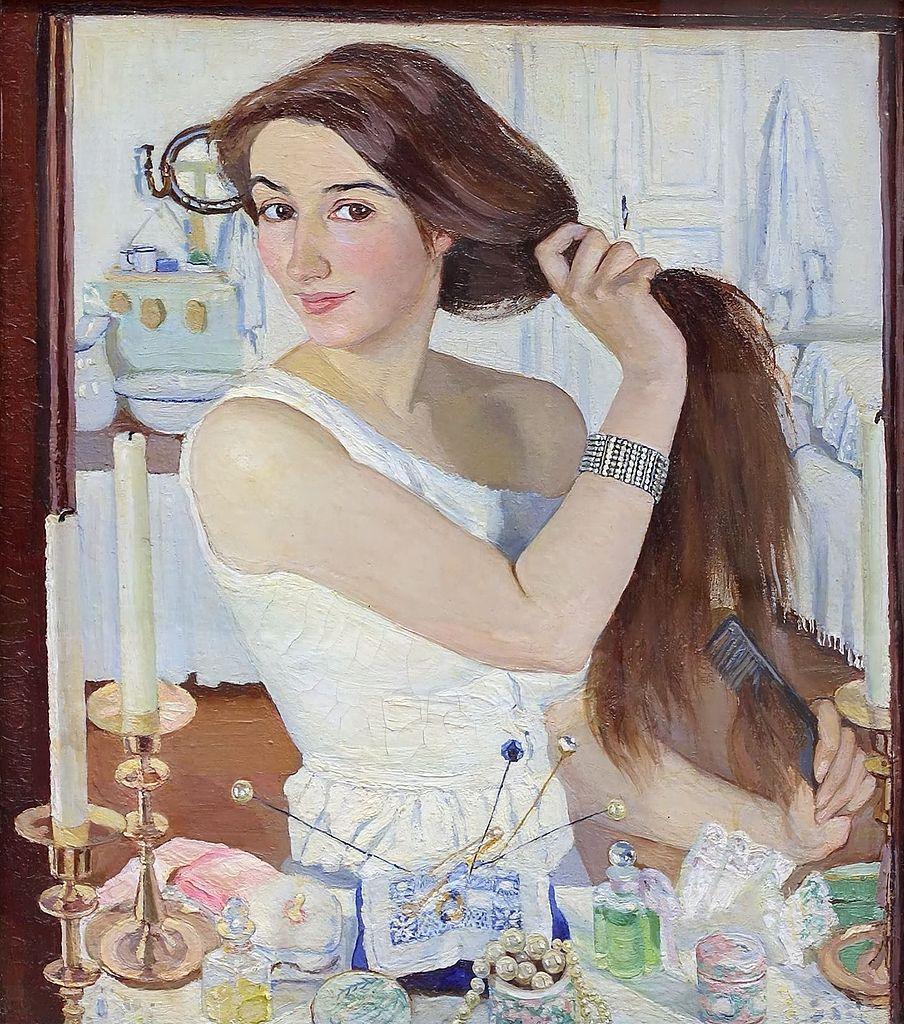 Zinaida Serebriakova - Self Portrait