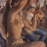 Ballet washroom - Zinaida Serebriakova