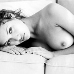 Olga Kurylenko nude portrait in b/w by Arnaud Caravielhe
