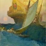 Galleon, Howard Pyle